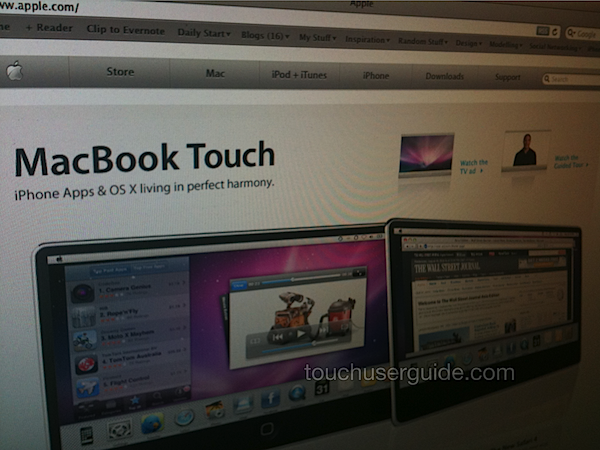 MacBook Touch?