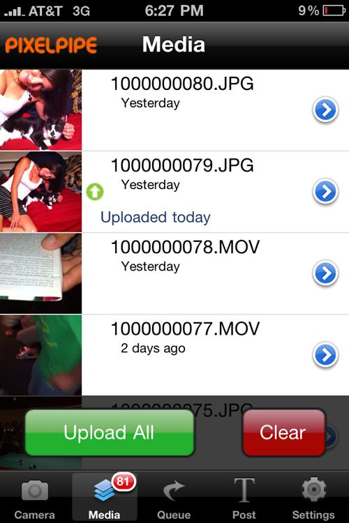 pixelpipe para iphone